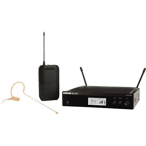 Open Box Shure BLX14R/MX53 Wireless Headset System with MX153 Headset Mic