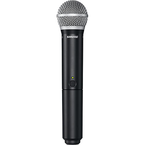 Open Box Shure BLX2/PG58 Handheld Wireless Transmitter with PG58 Capsule