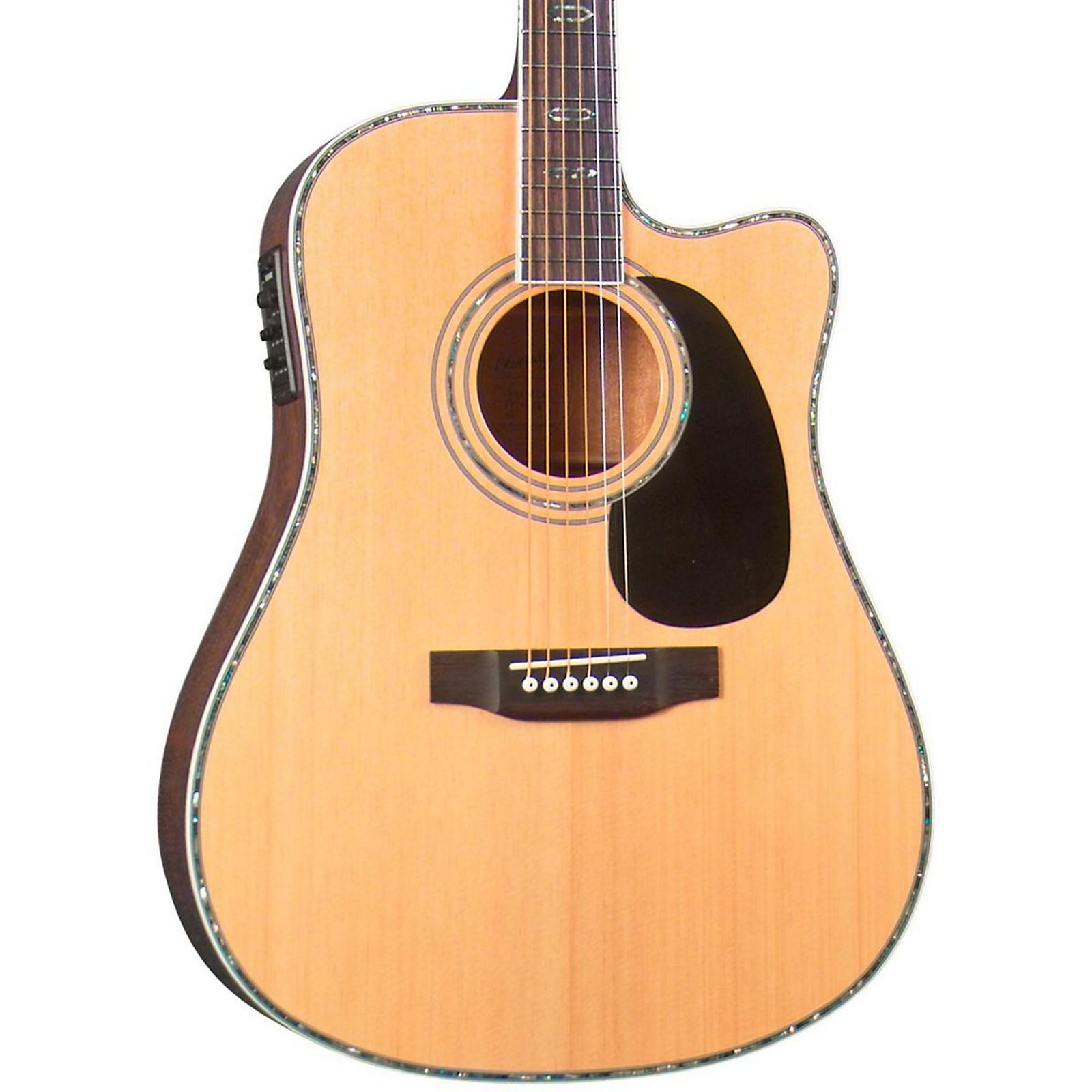 Open Box Blueridge BR-70CE Cutaway Acoustic-Electric Dreadnought Guitar