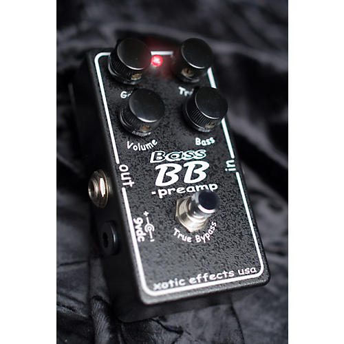 Open Box Xotic Effects Bass BB Preamp Distortion/Booster Bass Effects Pedal