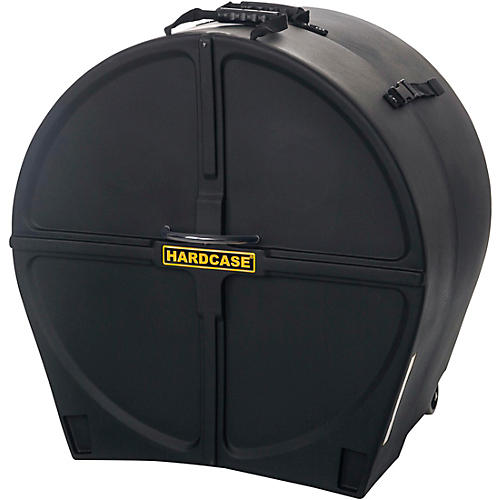 Open Box HARDCASE Bass Drum Case with Wheels