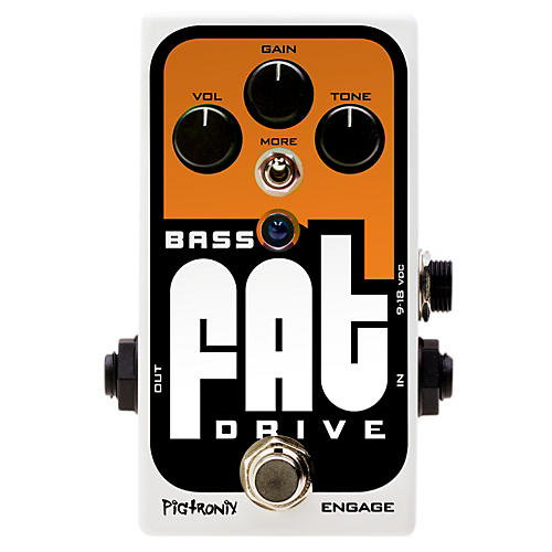 Open Box Pigtronix Bass Fat Drive Effects Pedal