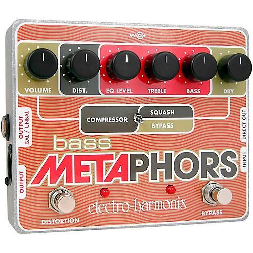 Open Box Electro-Harmonix Bass Metaphors Compressor Effects Pedal