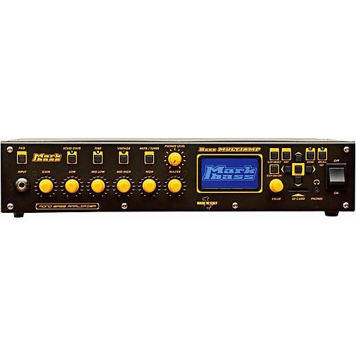 Open Box Markbass Bass Multiamp Mono 500W Bass Head with Effects