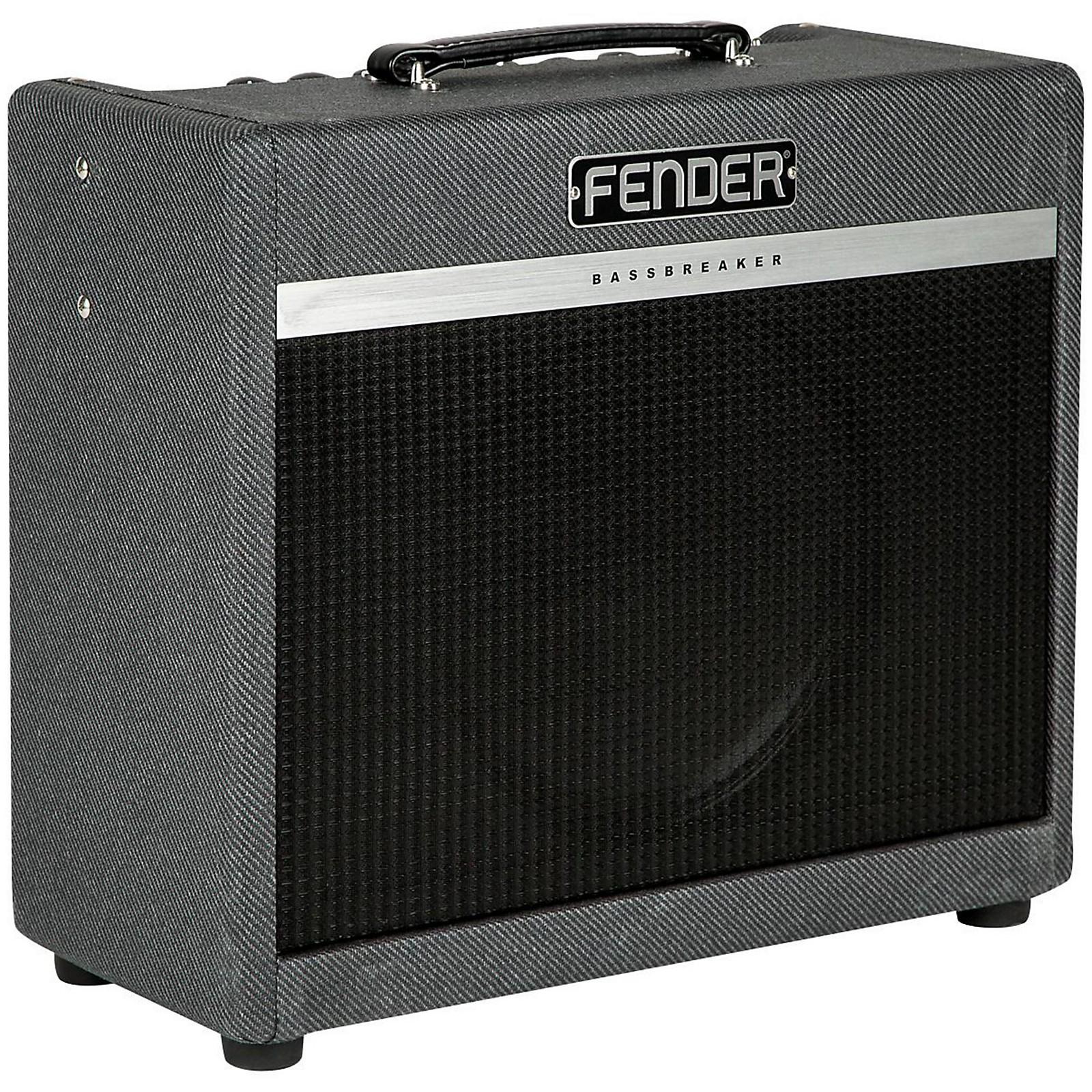 Open Box Fender Bassbreaker 15W 1x12 Tube Guitar Combo Amp