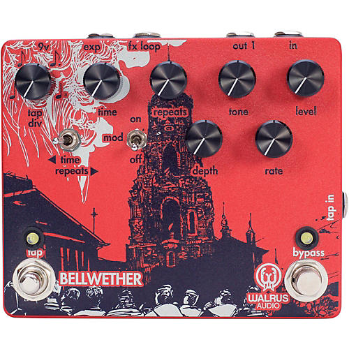 Open Box Walrus Audio Bellwether Analog Delay