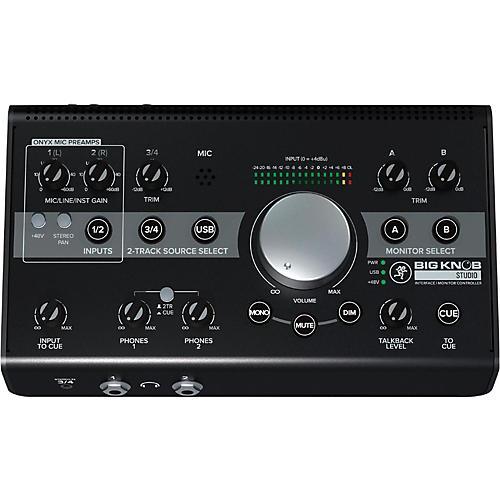 Open Box Mackie Big Knob Studio Monitor Controller Interface