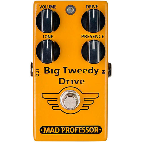 Open Box Mad Professor Big Tweedy Drive Overdrive Effects Pedal