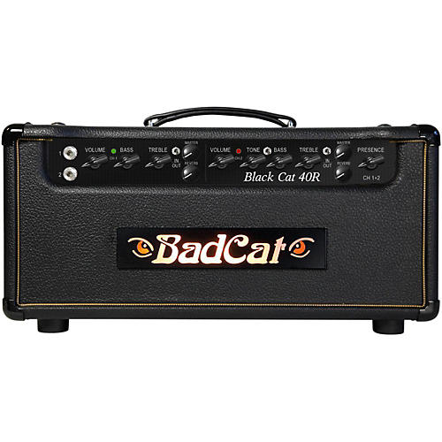 Open Box Bad Cat Black Cat 40W Guitar Head with Reverb