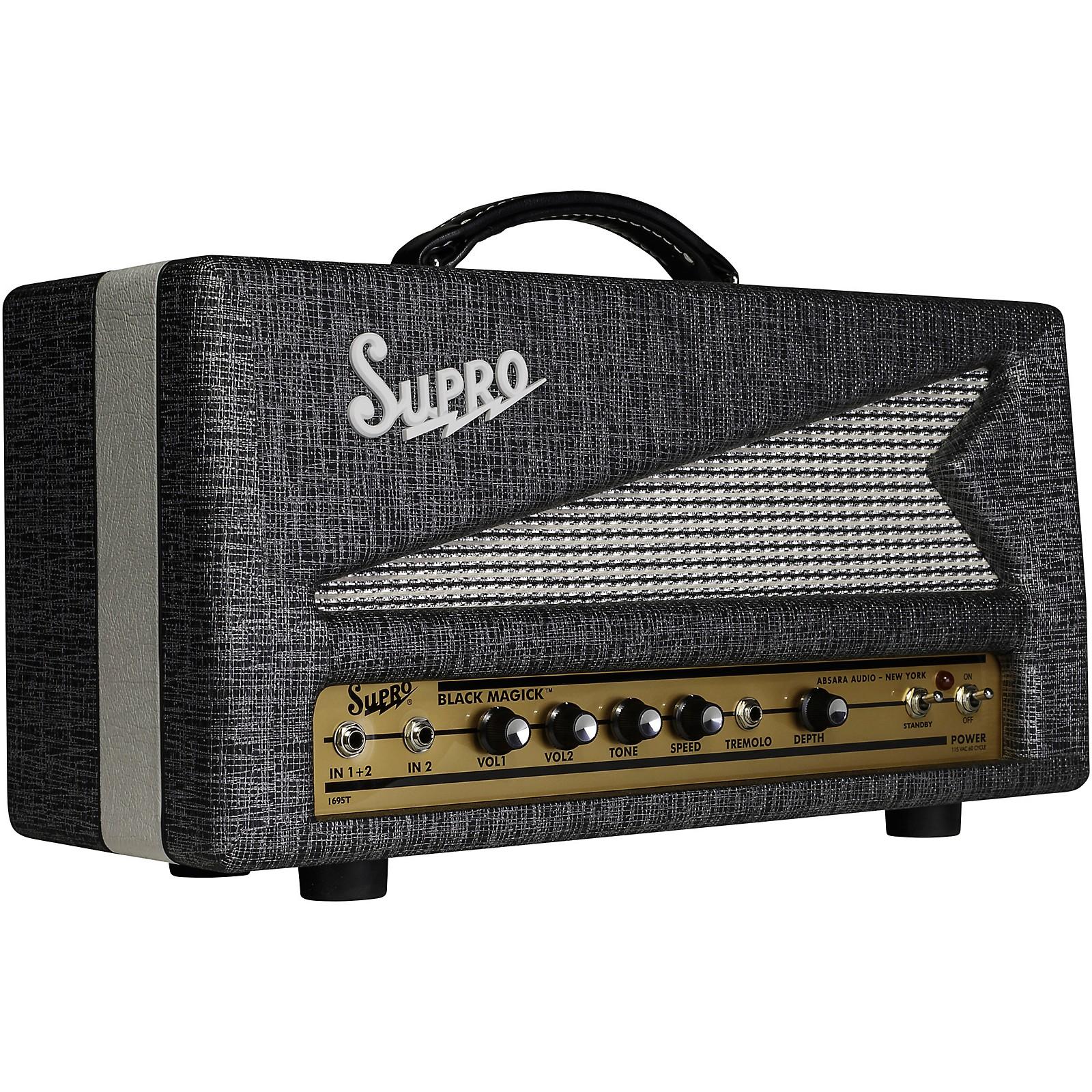 Open Box Supro Black Magick 25W Tube Guitar Amp Head