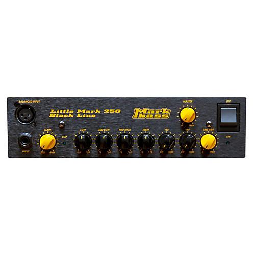 Open Box Markbass Blackline Little Mark 250 250W Bass Amp Head