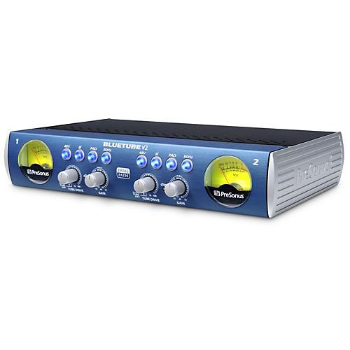 Open Box PreSonus BlueTube DP V2 2-Channel Mic/Instrument Tube Preamp