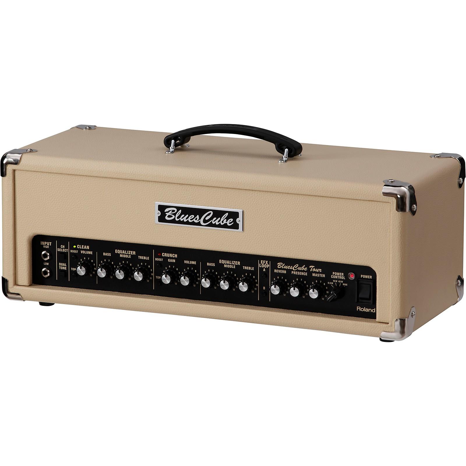 Open Box Roland Blues Cube Tour 100W Guitar Amplifier Head