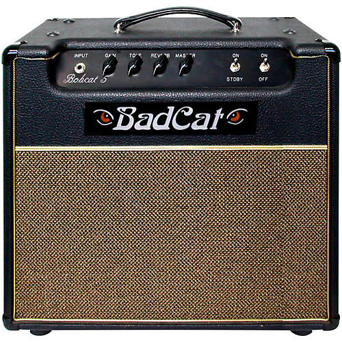Open Box Bad Cat Bobcat 5 1x12 5W Tube Guitar Combo Amp with Reverb