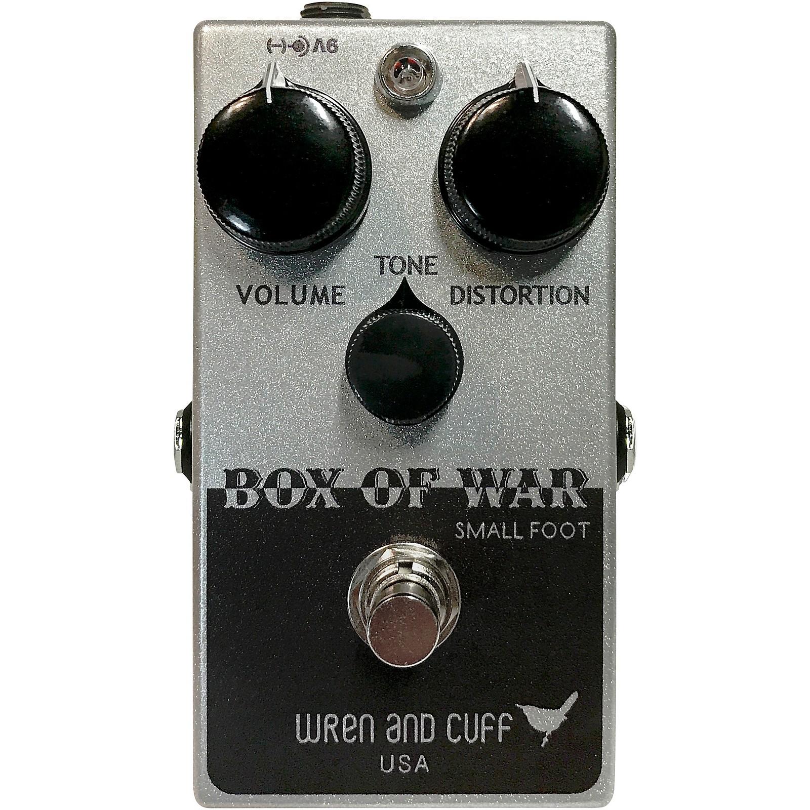 Open Box Wren And Cuff Box of War Small Foot Fuzz Effects Pedal