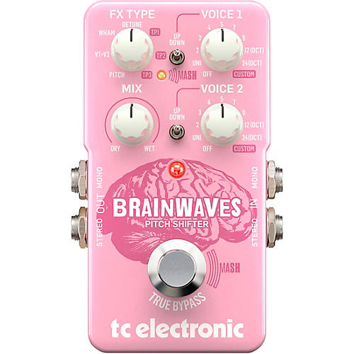 Open Box TC Electronic Brainwaves Pitch Shifter Effects Pedal