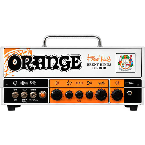 Open Box Orange Amplifiers Brent Hinds Terror 15W Tube Guitar Amp Head