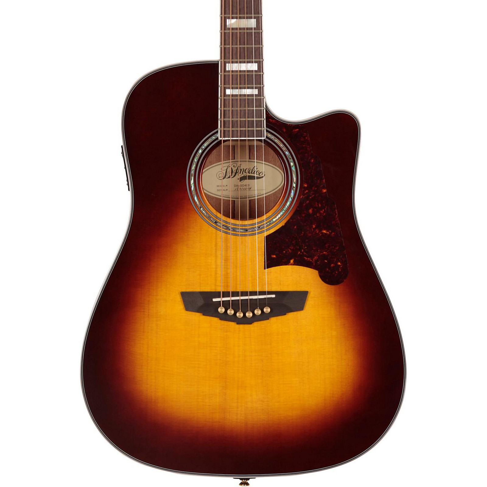 Open Box D'Angelico Brooklyn Dreadnought Cutaway Acoustic-Electric Guitar