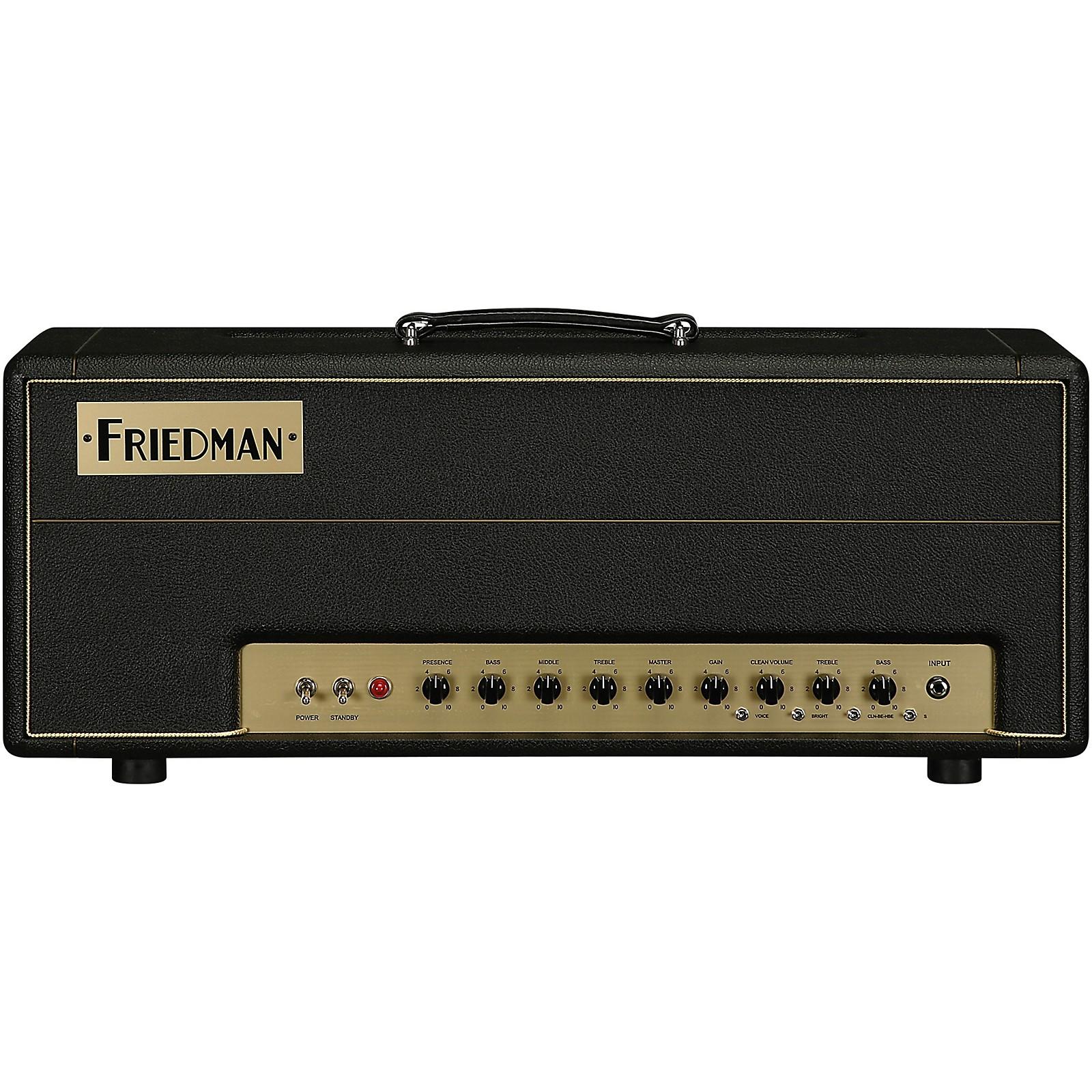 Open Box Friedman Brown Eye 100W 2-Channel Tube Guitar Head