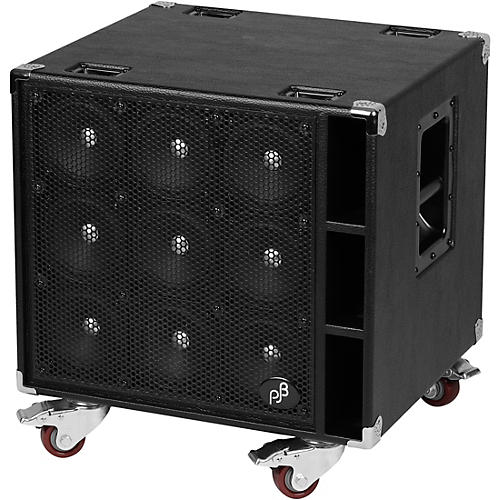 Open Box Phil Jones Bass C-9 900W 9x5 Bass Speaker Cabinet