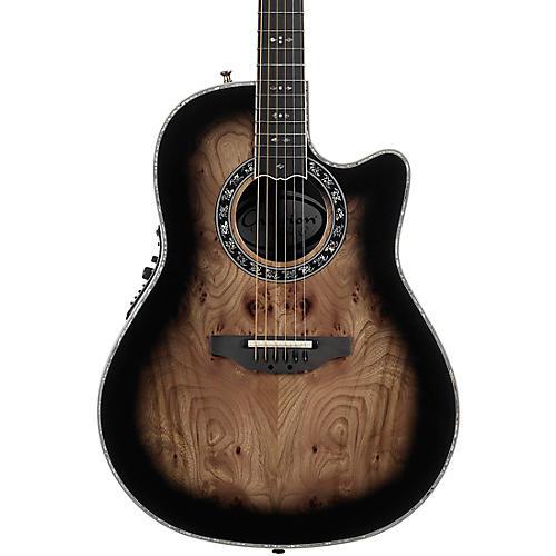 Open Box Ovation C2079AXP Exotic Wood Legend Plus Elm Burl Acoustic-Electric Guitar