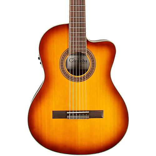 Open Box Cordoba C5-CE Classical Cutaway Acoustic-Electric Guitar