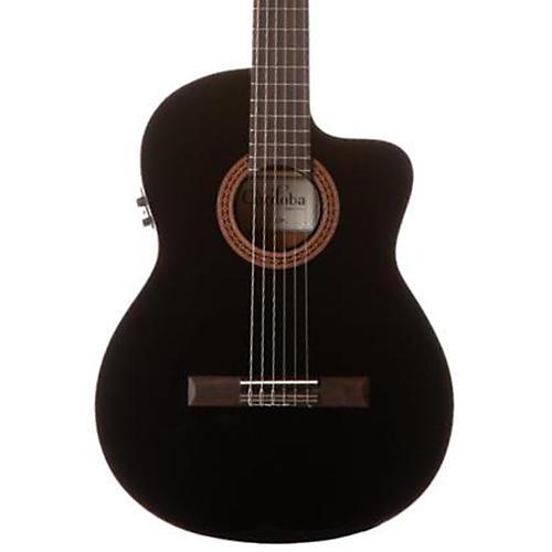 Open Box Cordoba C5-CEBK Classical Acoustic-Electric Guitar Black