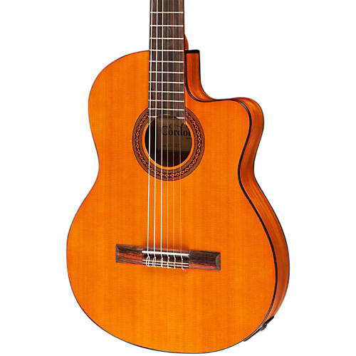 Open Box Cordoba C5-CET Classical Thinline Acoustic-Electric Guitar