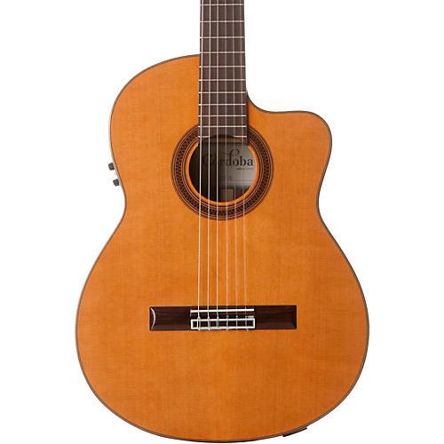 Open Box Cordoba C7-CE CD Acoustic-Electric Nylon String Classical Guitar