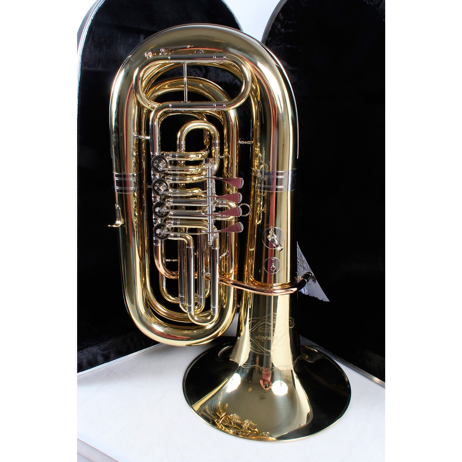 Open Box Cerveny CCB-671 Junior Series 4-Valve CC Tuba