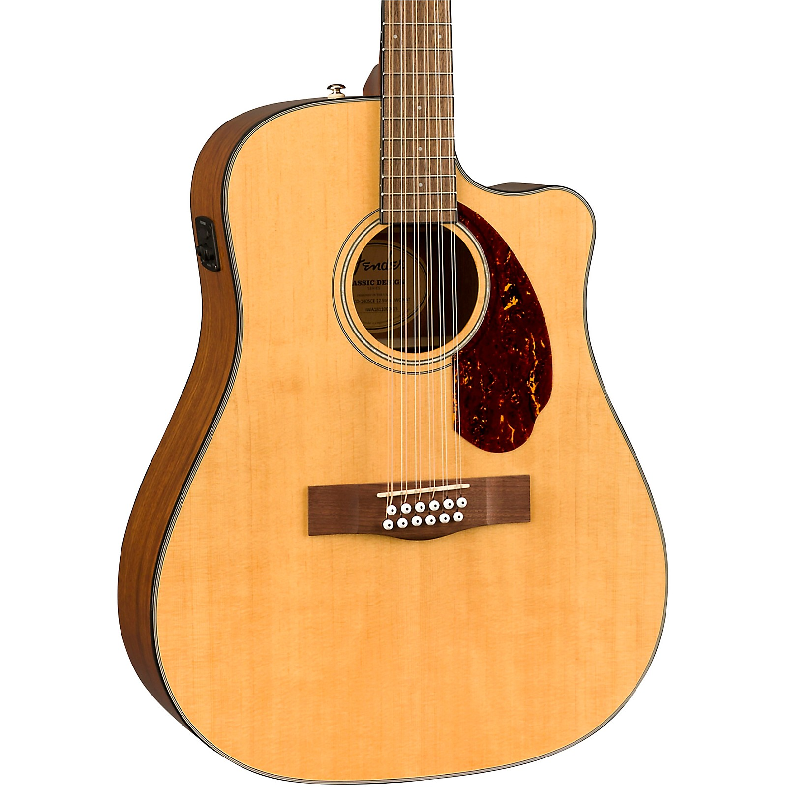 Open Box Fender CD-140SCE 12-String Dreadnought Acoustic-Electric Guitar