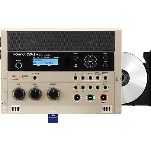 Open Box Roland CD-2u SD/CD Recorder