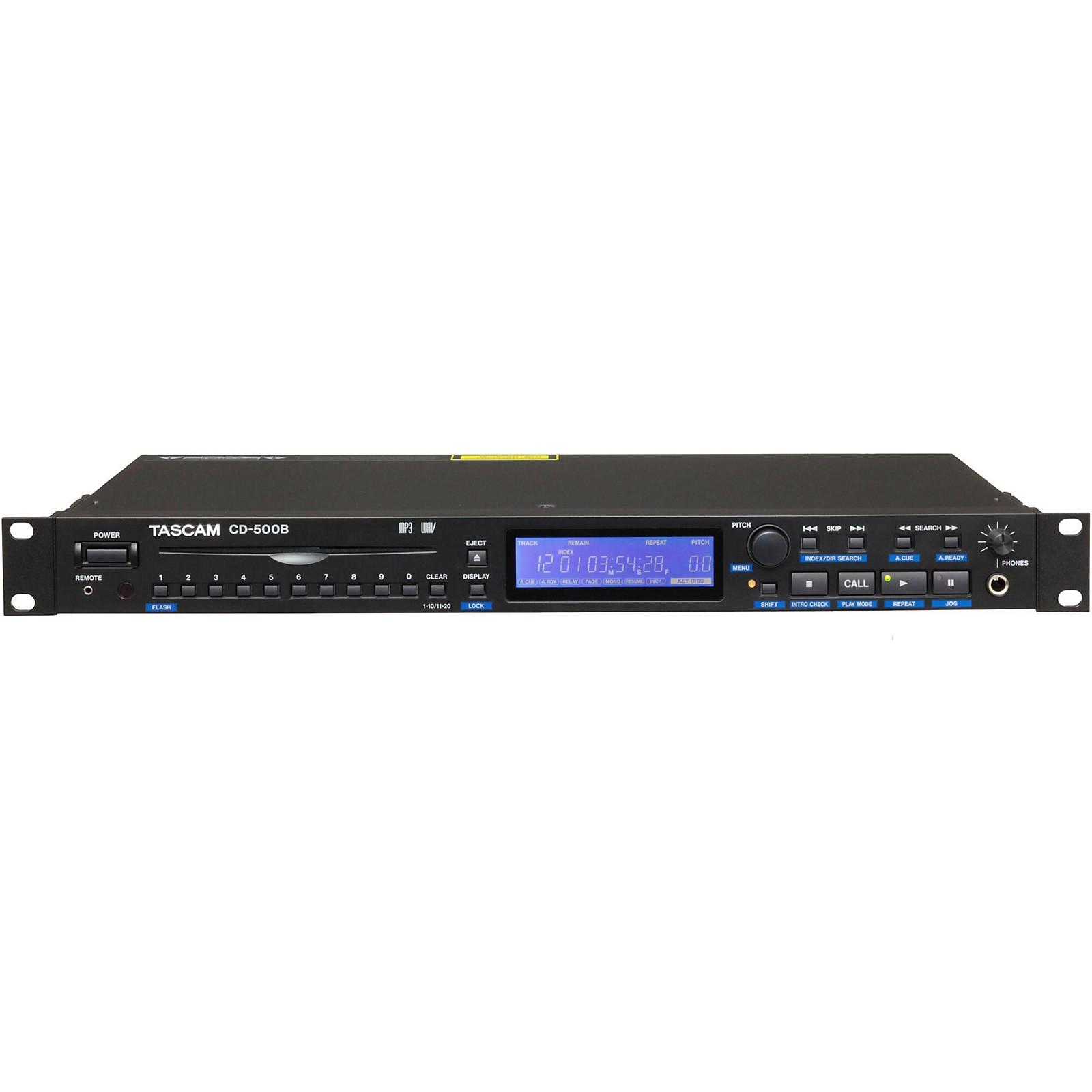 Open Box Tascam CD-500B Professional CD Player