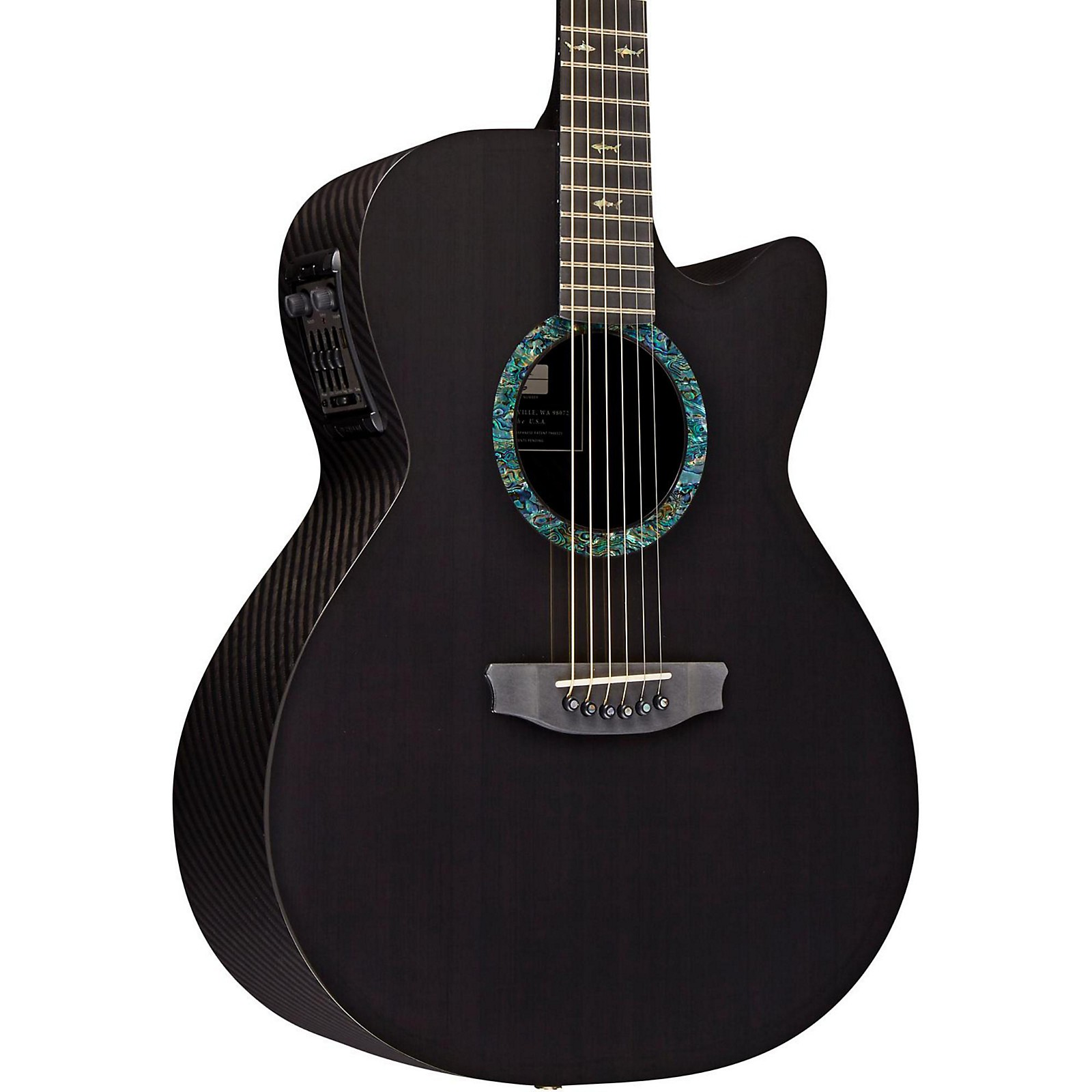 Open Box RainSong CO-WS1000N2 Concert Series Graphite Acoustic-Electric Guitar
