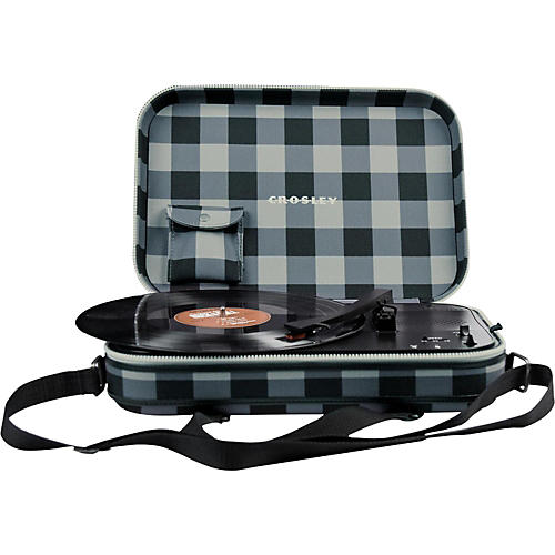 Open Box Crosley CR8016A Messenger Turntable