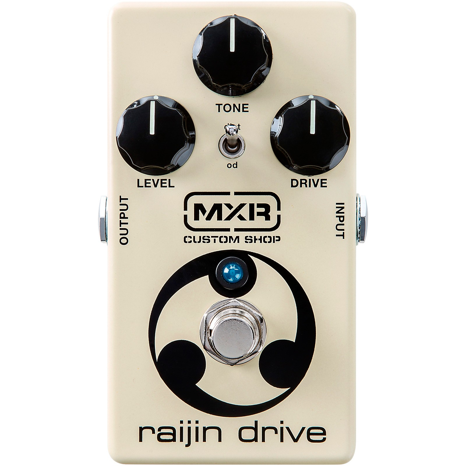 Open Box MXR Custom Shop CSP037 Raijin Drive Overdrive/Distortion Effects Pedal