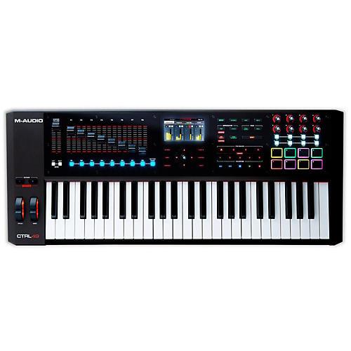 Open Box M-Audio CTRL49 Controller Keyboard
