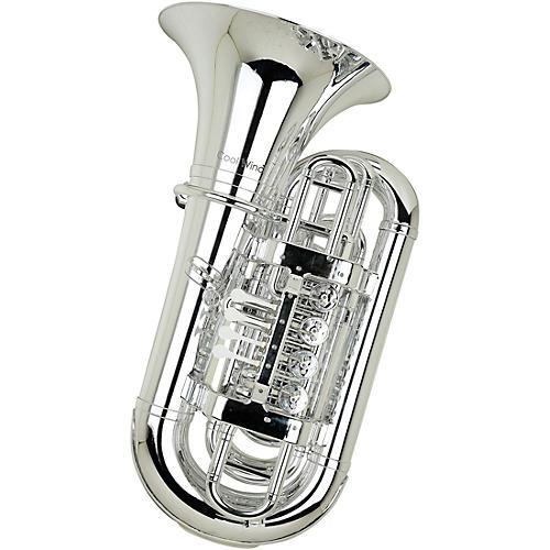 Open Box Cool Wind CTU-200 Metallic Series 4-Valve Plastic BBb Tuba