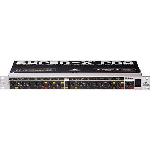 Open Box Behringer CX3400 Super-X Pro Crossover