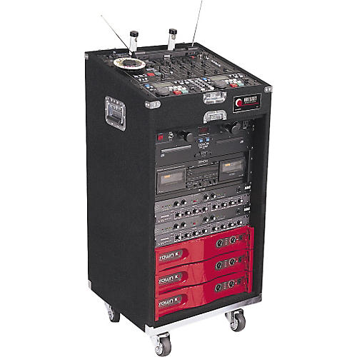 Open Box Odyssey CXL116W Deluxe Combo Case with Wheels