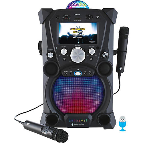 Open Box The Singing Machine Carnaval Portable Hi-Def Karaoke System