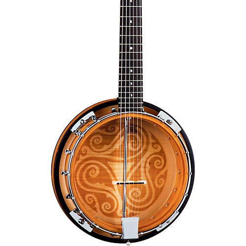 Open Box Luna Guitars Celtic 6-String Banjo