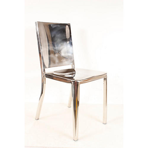 Open Box Suzuki Chair Hi Polish Aluminum