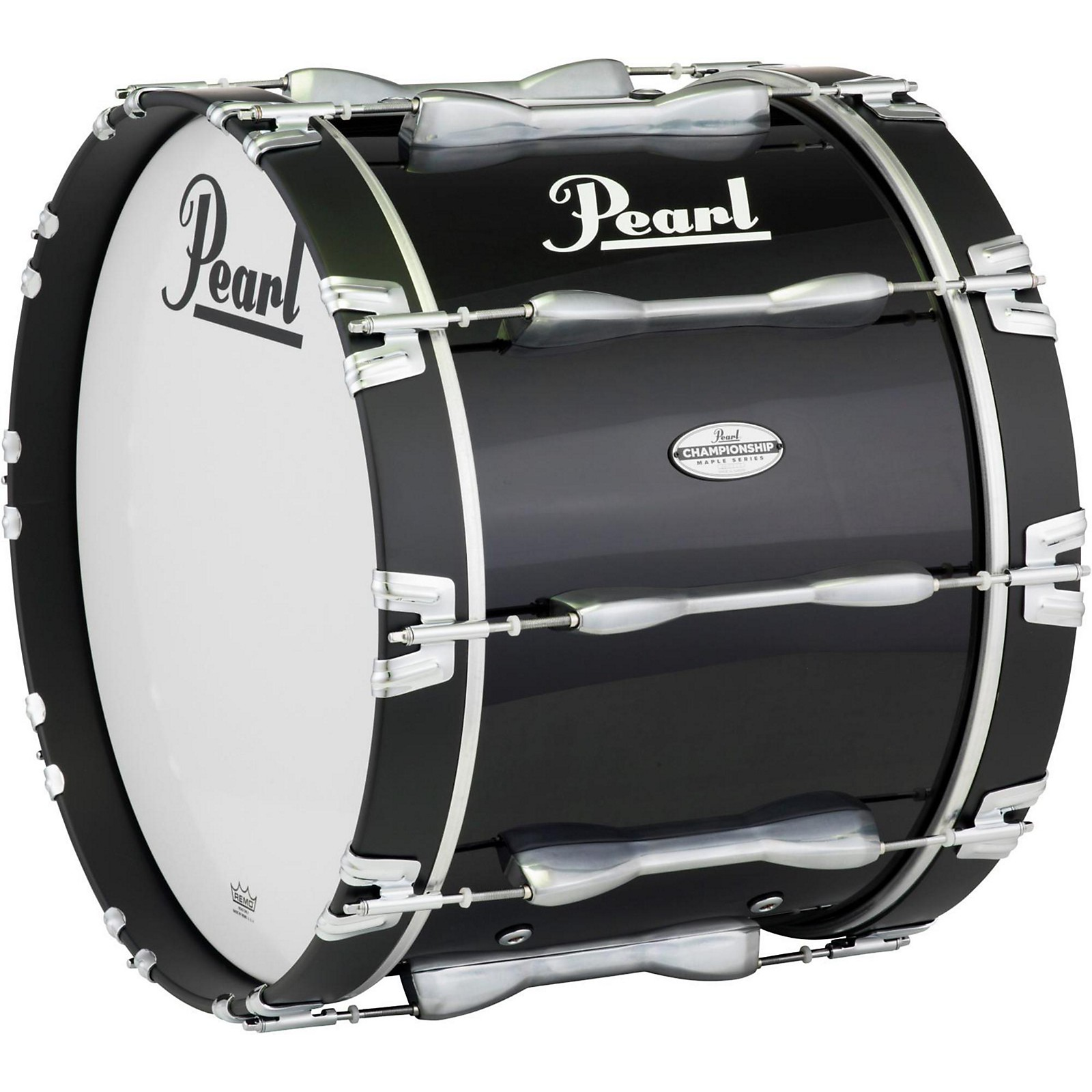 Open Box Pearl Championship Maple Marching Bass Drum, 30 x 16 in.