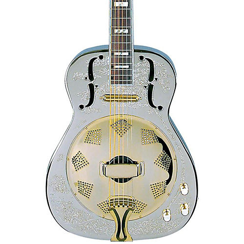 Open Box Dean Chrome G Acoustic-Electric Resonator Guitar