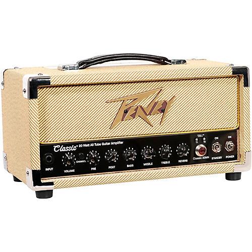 Open Box Peavey Classic 20 Micro Tube Guitar Amp Head
