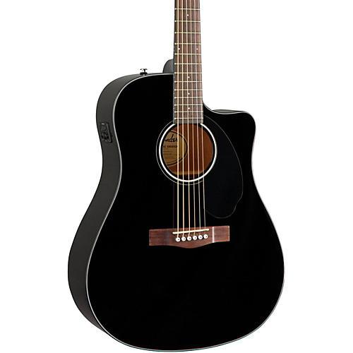 Open Box Fender Classic Design Series CD-60SCE Cutaway Dreadnought Acoustic-Electric Guitar