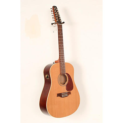 Open Box Seagull Coastline Series S12 Dreadnought 12-String QI Acoustic-Electric Guitar