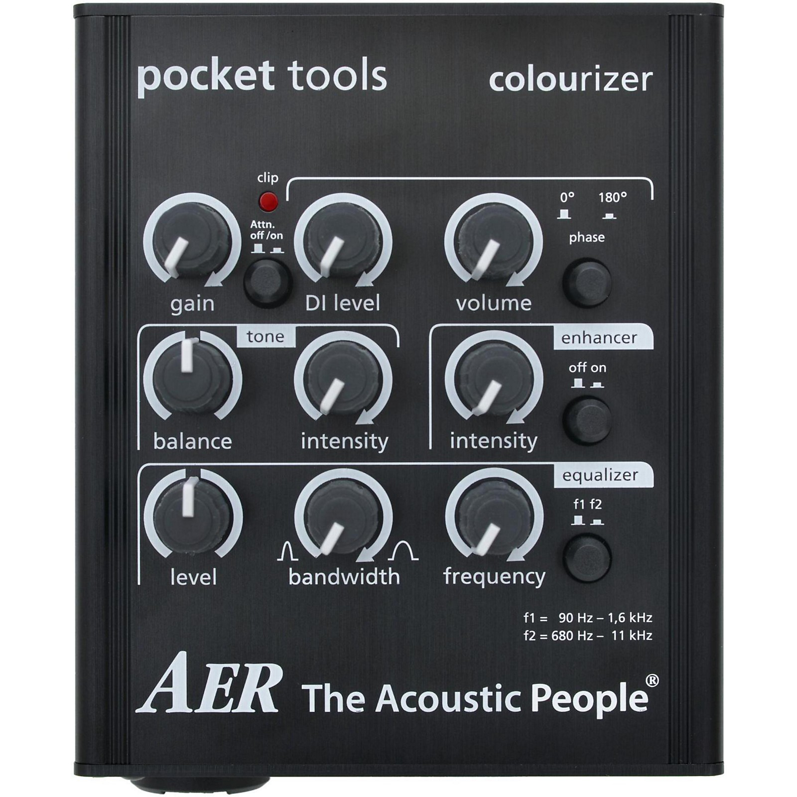 Open Box AER Colourizer-2 Acoustic Guitar Direct Box and Preamp