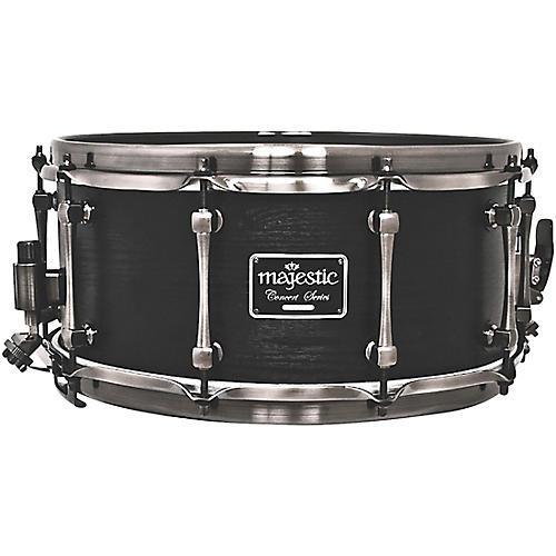 Open Box Majestic Concert Black Snare Drum